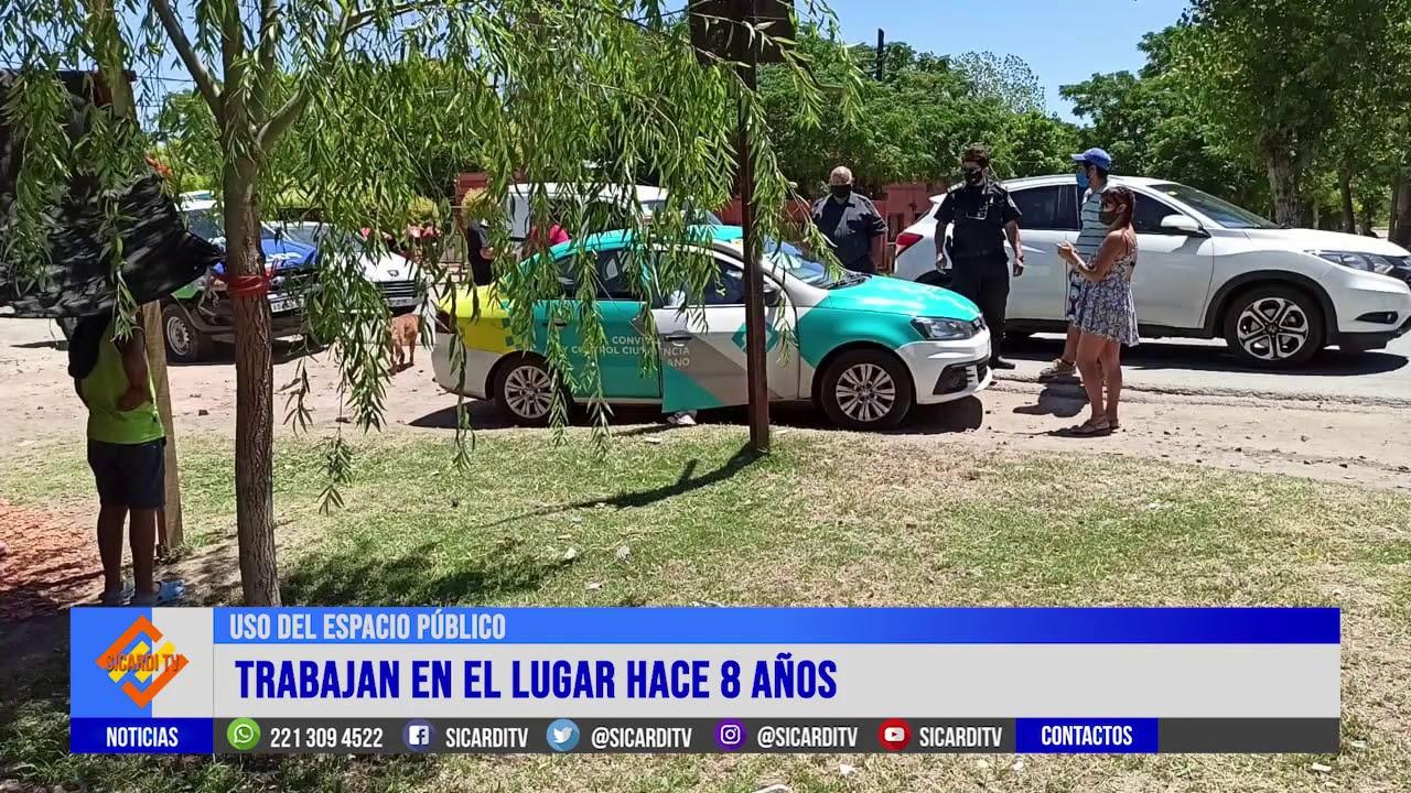 Control Urbano secuestró frutas y verduras en Arana