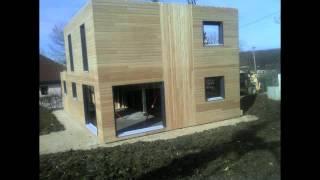 Troisième Jour De La Construction De Notre Maison Ossature Bois Boillod