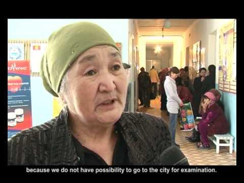 Fighting diabetes in Kyrgyzstan - HelpAge International