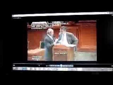 Lake Peigneur SB200 Senate Chamber 5 21 2013 Failed