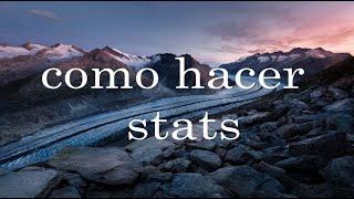 Como hacer stats en [Roblox Studio]