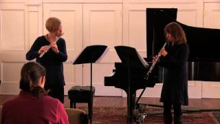 Musgrave: Impromptu - Ann Bobo, flute & Nancy Dimock, oboe