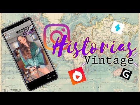 APPS PARA INSTAGRAM STORIES TUMBLR- VHS, VINTAGE , GLITCH
