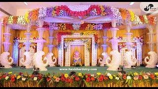 Wedding Stage Decoration    Decor    Havi'sh Artistry