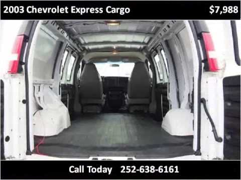 2003 chevrolet express cargo used cars new bern nc youtube. Black Bedroom Furniture Sets. Home Design Ideas
