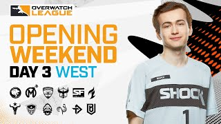 [Co-Stream] Overwatch League 2021 Season | Opening Weekend | Day 3 — West