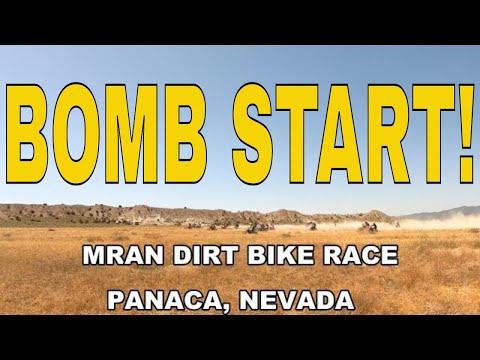 Dirt Biking Las Vegas KENDA SRT National Hare And Hound MRAN Racing Panaca Nevada 2019