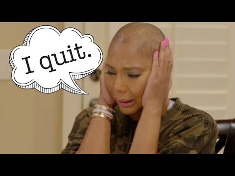 Tamar Braxton Quits Braxton Family Values!
