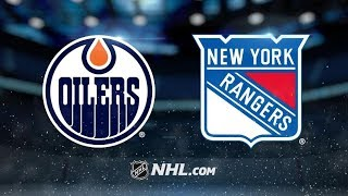 Edmonton Oilers vs New York Rangers | Oct.12, 2019 | Game Highlights | NHL 2019/20 | Обзор матча