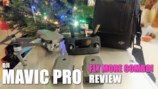 DJI MAVIC PRO Fly More Combo Review - [Unboxing, Inspection, Setup]