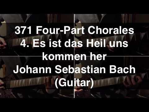 [4] BWV 86 - Es ist das Heil uns kommen her (Bach) - Guitar