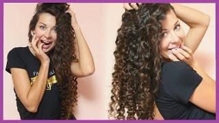 Смотреть видео тонкие ватные волосы