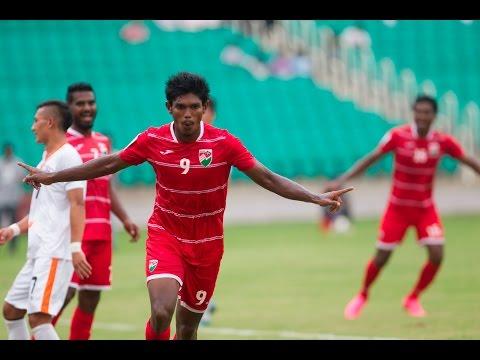 FULL MATCH -Maldives v Bhutan: SAFF Suzuki Cup 2015