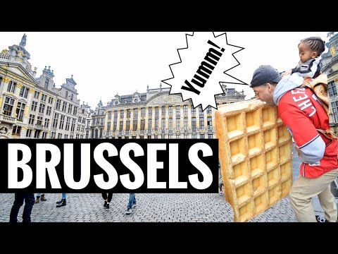 Brussels, Belgium For 24 Hours: Waffles & The Chocolate Museum