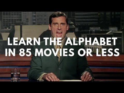 Learn The Alphabet In 85 Movies Or Less
