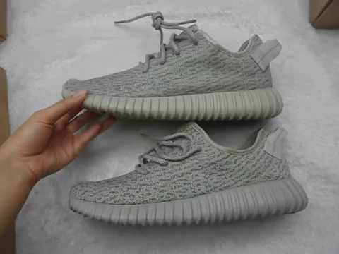 b4c0a1a798923 High quality UA yeezy boost 350 moonrock first and second version  comparison from goodskick.com