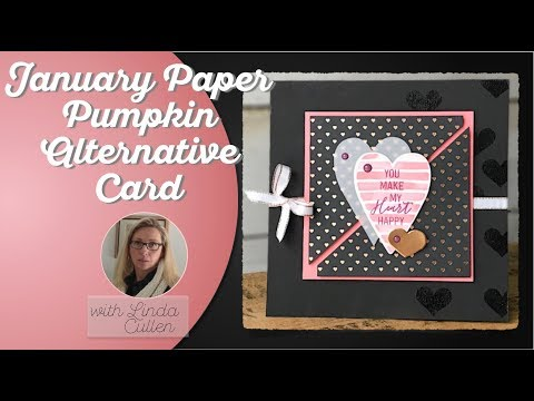 Coffee & Crafts Class:  January 2018 Paper Pumpkin Alternative