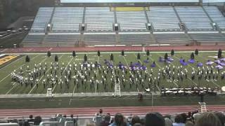 Dobyns-Bennet Competitive Band 2010 Appalachian State University ASU Boone