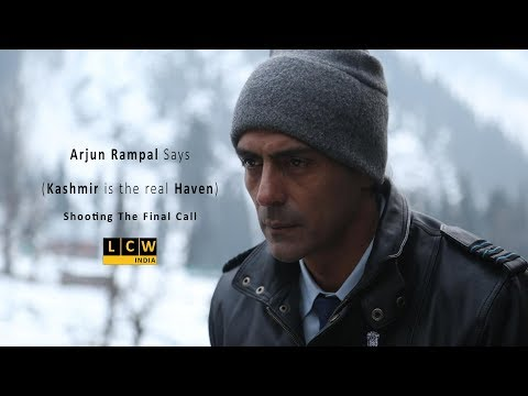 "Arjun Rampal visits Kashmir for the web series ""The Final Call"" 