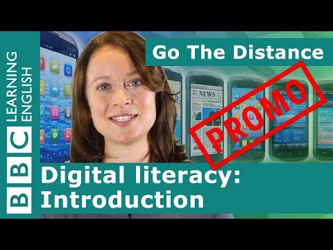PROMO: Digital Literacy – Introduction
