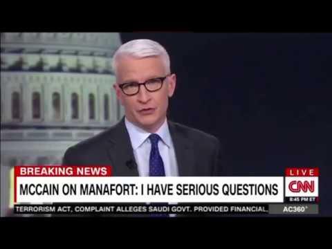 MC Cain on Manafort I Have Serious Questions #manafort #russia #trump