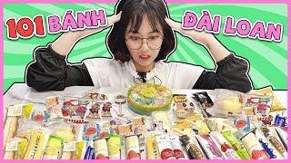 Misthy Phát điên vì 101 loại bánh kẹo Đài Loan || WHAT THE FOOD