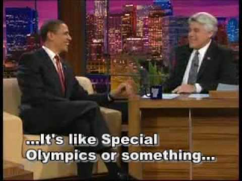 Obama Bowling and Special Olympics