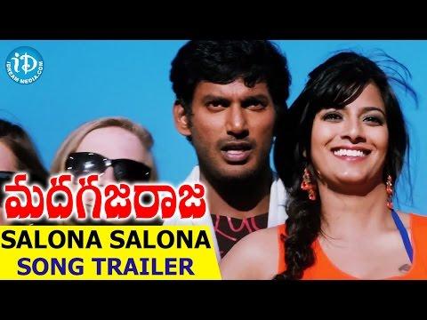 Vishal's Madha Gaja Raja Songs - Salona Salona Song Trailer    Anjali     Varalakshmi