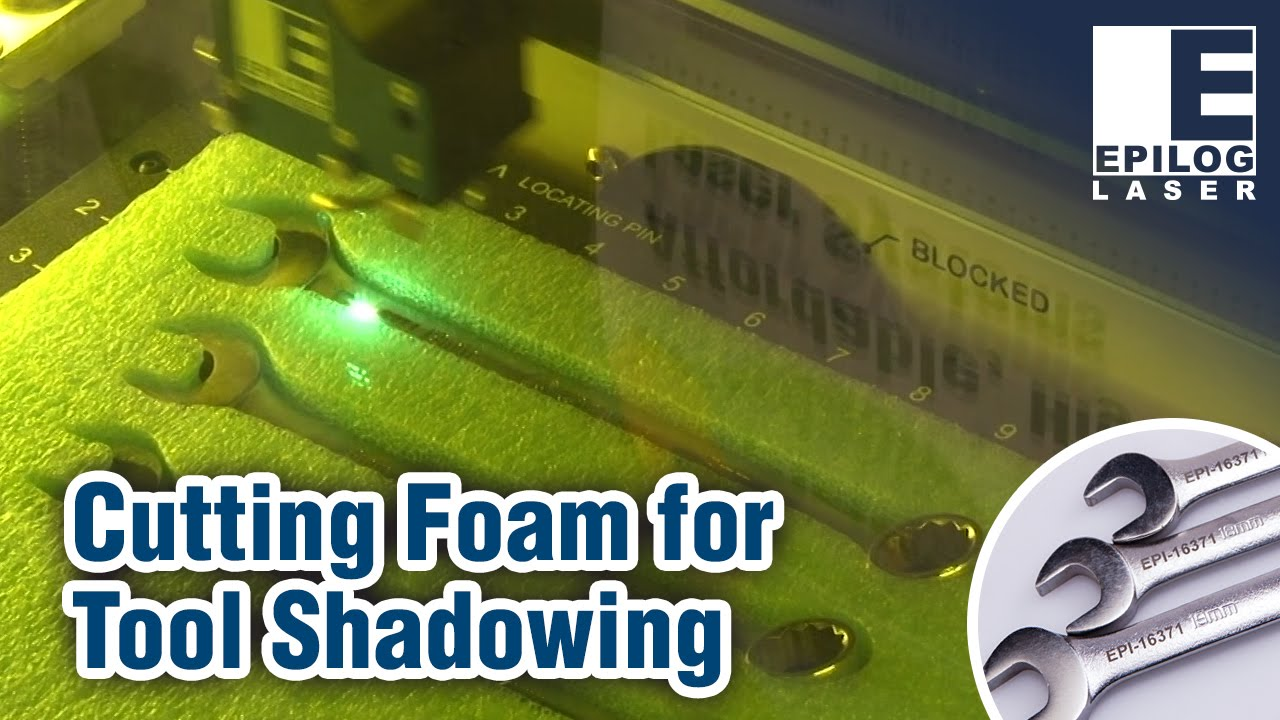 Laser Cutting Foam For Tool Shadowing Wrench Metal