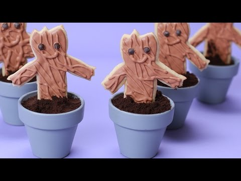 Download GUARDIANS OF THE GALAXY GROOT COOKIES - NERDY NUMMIES Pics