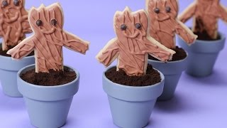 GUARDIANS OF THE GALAXY GROOT COOKIES - NERDY NUMMIES