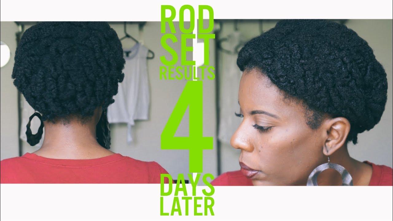 Maintain Rod Set Natural Hair