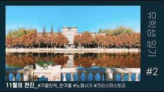 [유학생일기]_#2. 가을인 척하는 천진의 겨울