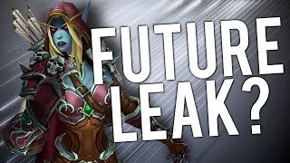 "Could THIS Be Future WoW Patch? (WoW ""Leak"") - WoW: Battle For Azeroth 8.2"