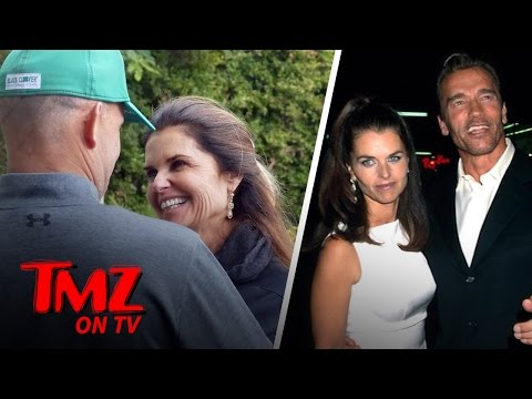 Maria Shriver All Smiles With Her Boyfriend But What About Arnold? | TMZ TV