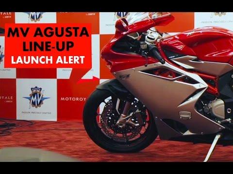 New Launch Alert : MV Agusta Line Up : PowerDrift