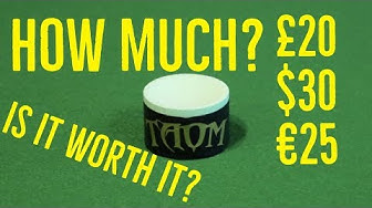 Taom Worlds Most expensive Chalk for Snooker and Pool FULL REVIEW!