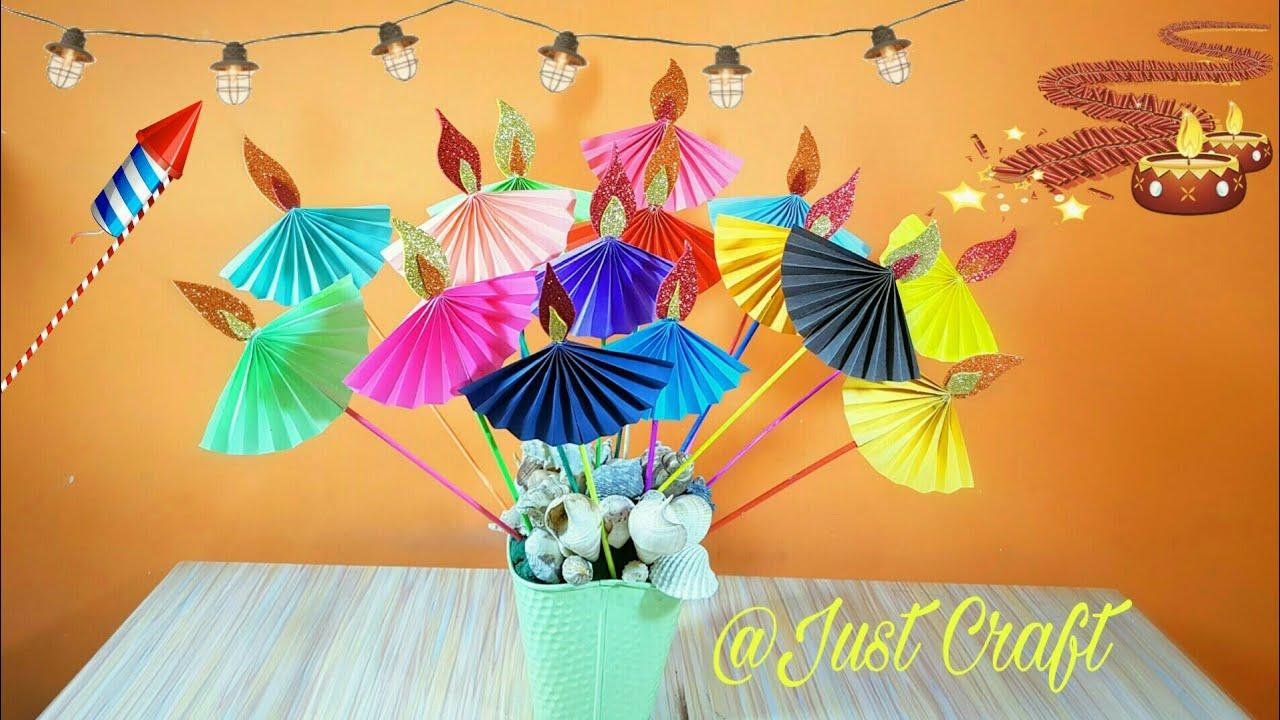 Diy Diya Craft Diwali Craft Just Craft Youtube