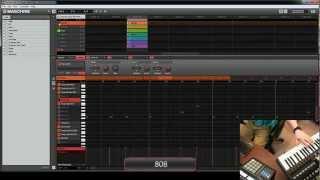 Making a Trap Beat on Maschine - Tote My Heat