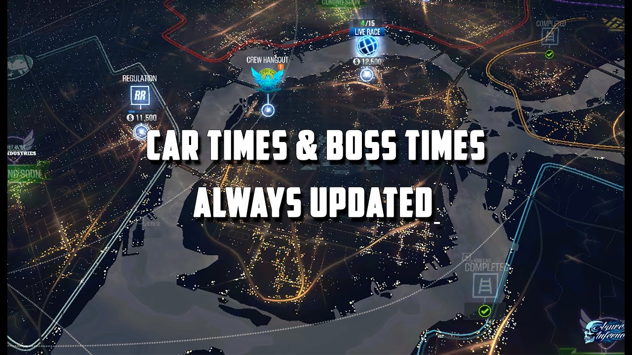 CSR Racing 2 | All Cars Maxed Times & Boss Times Updated 3