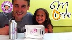 Unser individuelles Pausenbrot Box und Trinkflasche Set von Omama-Shop.de - Kinderkanal