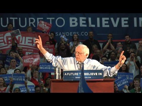 Bernie Sanders rally in Milton Massachusetts - 2/29/2016