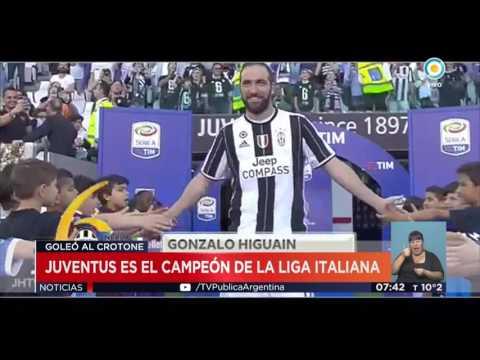 Juventus campeón de la Liga Italiana