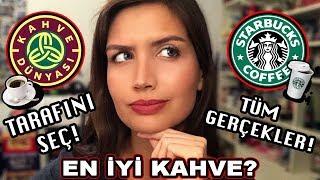 STARBUCKS vs. KAHVE DÜNYASI | En İyi Kahve? | Tarafını Seç!