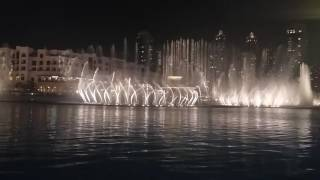 Dubai Fountain Show November 2015