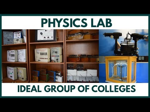 Physics Lab At Ideal Group Of Colleges | Electric & Electronics Equipment, Spectrometer