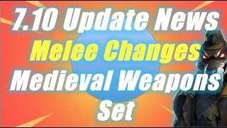 Medieval Weapons Set and Armor in 7.10 Update, Plus FREE Subnautica Game / Fortnite