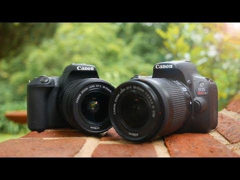 Canon SL2 (200D) vs Canon SL1 (100D) - What is the Best Canon Beginner DSLR?