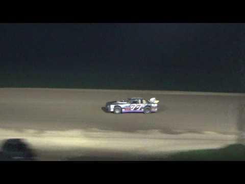 Street Stock Heat Race #2 at Crystal Motor Speedway, Michigan on 09-04-16.