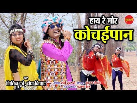 Hay Re Mor Kochaipan - हाय रे मोर कोचईपान - Nitin Dubey & Champa Nishad - Karama Geet - CG Song